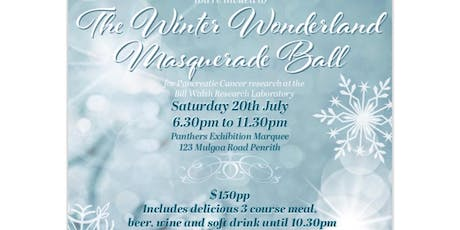 The Winter Wonderland Masquerade Ball - For Pancreatic Cancer tickets