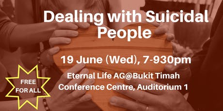 Dealing with Suicidal People (Christian Counselling Seminar) tickets