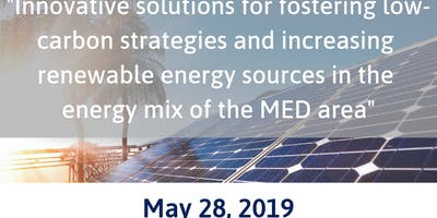 Innovative solutions for increasing RES in the energy mix of the MED area