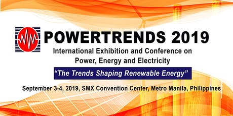 POWERTRENDS 2019- International Exhibition on Power, Energy and Electricity tickets