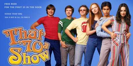 That 70's Show Trivia Night tickets