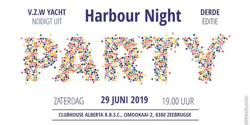Harbour Night Zeebrugge