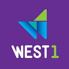 WEST 1 Intercâmbio logo