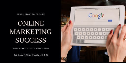 Learn how to create Online Marketing Success without costing you the earth