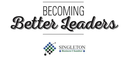 Singleton Business Chamber Becoming Better Leaders Workshop, June 25 tickets