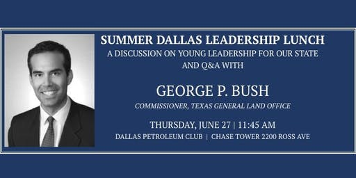 Dallas Leadership Forum - Young Statewide Leadership