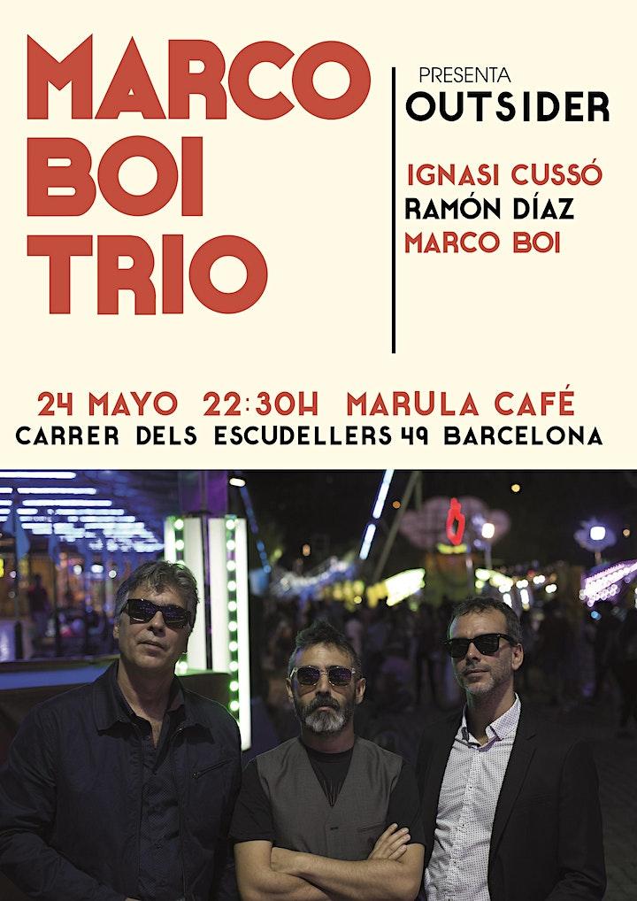 Imagen de Marco Boi Trío  OUTSIDER en Barcelona