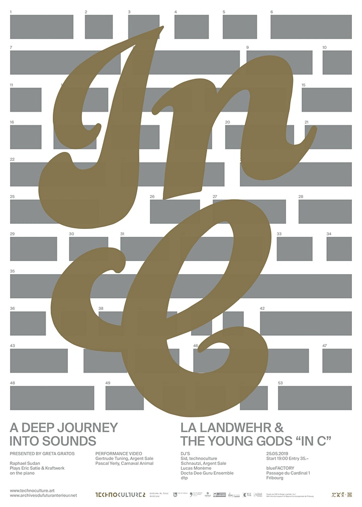 """Image pour """" In C """"  La  Landwehr & The Young Gods play Terry Riley"""