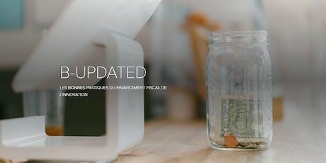 B-updated - Les bonnes pratiques du financement fiscal de l'innovation billets
