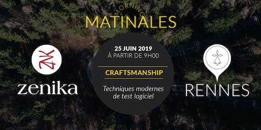 Matinale Craftsmanship - Rennes
