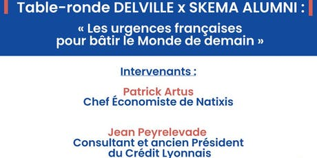 TABLE-RONDE DELVILLE MANAGEMENT x SKEMA billets