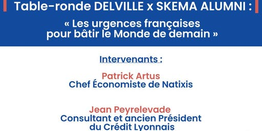 TABLE-RONDE DELVILLE MANAGEMENT x SKEMA