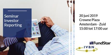 Seminar Investor Reporting tickets
