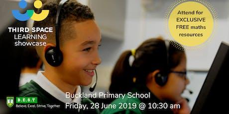 Buckland Primary School Maths Intervention Showcase tickets