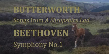 Schubert Rosamunde - Butterworth Shropshire Lad Songs - Beethoven 1st Symphony tickets