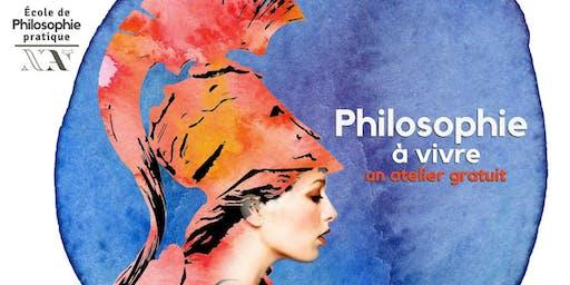 Philosophie à vivre - 1er atelier gratuit