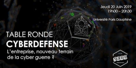 Cyberdéfense : L'entreprise, nouveau terrain de la cyber guerre? billets