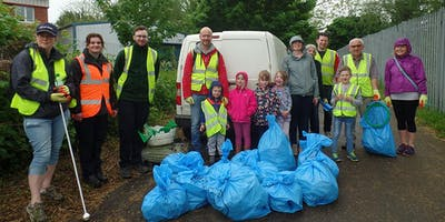 Out to Water Into History Litter Pick
