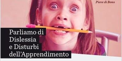 PARLIAMO DI DISLESSIA E DISTURBI DELL'APPRENDIMENTO