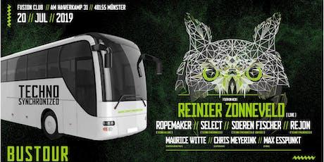 Bustour zum Fusion Münster Techno synchronized w/ Reinier Zonneveld live Tickets