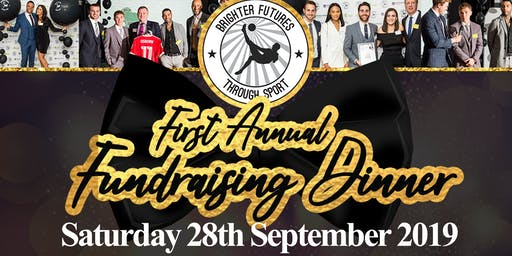 Brighter Futures Through Sport: Charity Fundraising Dinner - 1 Year Anniversary!