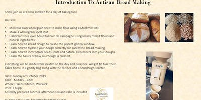 Introduction to artisan bread making