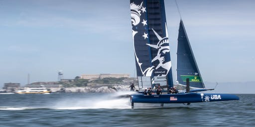 New York SailGP Cruise Select Plus - Official Spectator Boat Experience