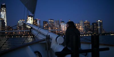 City Lights with a DJ Aboard the Clipper City Tall Ship