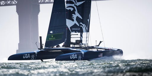 New York SailGP Cruise Premier - Official Spectator Boat Experience