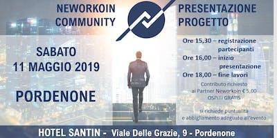 PRESENTAZIONE PROGETTO NEWORKOIN COMMUNITY - PORDENONE