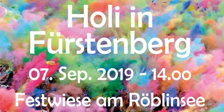 Holi in Fürstenberg Tickets