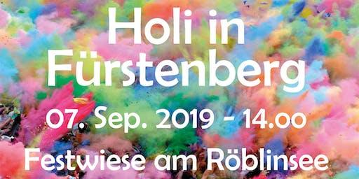 Holi in Fürstenberg