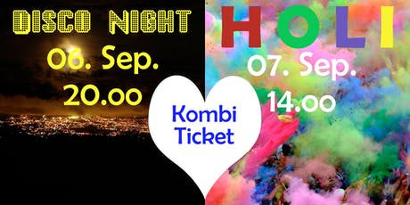 Kombiticket - Disco Fever & Holi in Fürstenberg Tickets
