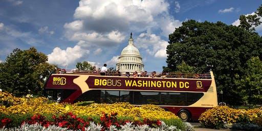 Hop-On, Hop-Off Big Bus Premium Tour of D.C.
