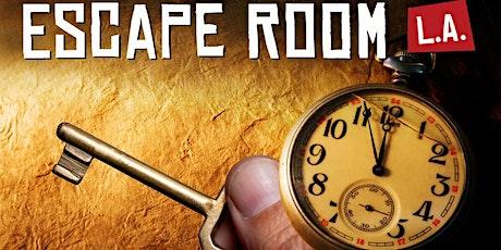 Escape Room LA: The Detective tickets