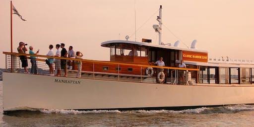 Champagne Sunset Cruise on Yacht Manhattan