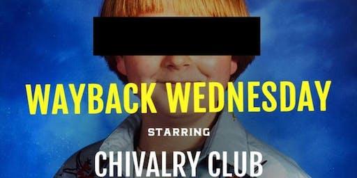 """Wayback Wednesday"" Improv"