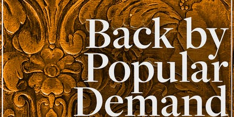 """""""Back By Popular Demand"""" Series tickets"""