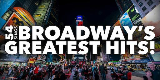 """""""54 Sings Broadway's Greatest Hit Songs"""""""