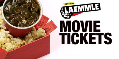 Laemmle Theatre Movie Ticket