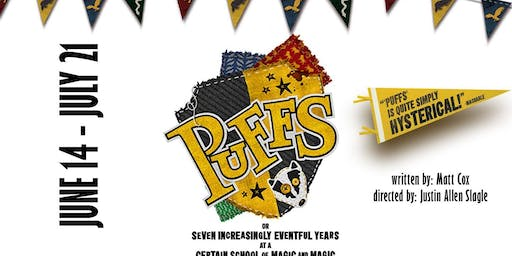 """""""Puffs, Or: Seven Increasingly Eventful Years at a Certain School of Magic and Magic"""""""