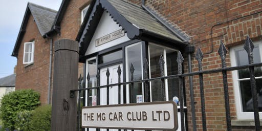 MG Car Club - Kimber House Open Weekend