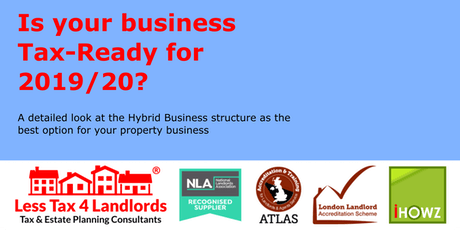 Hybrid Business Models for Portfolio Landlords [Limited Seat] Seminar & Private Consultation tickets