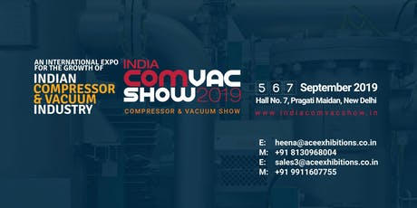 India ComVac Show 2019 tickets