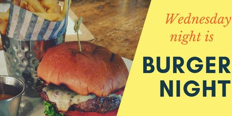 Burger Night at Curlers Rest tickets