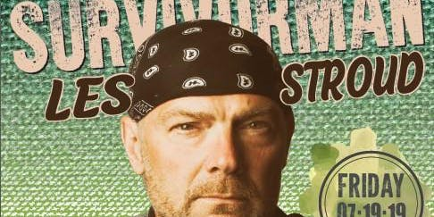 Survivorman LES STROUD in Concert @ Temagami July 19, 2019
