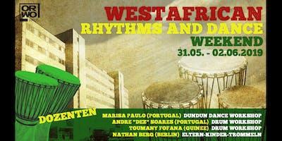Westafrican Rhythms and Dance Weekend
