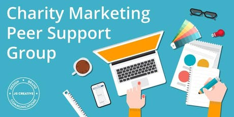 July Charity Marketing Peer Support Group tickets