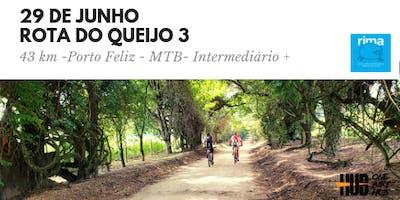 Rota do Queijo 3- Porto Feliz - 43 km MTB - Intermediário +