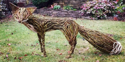 Willow weaving - Create an Urban Fox!